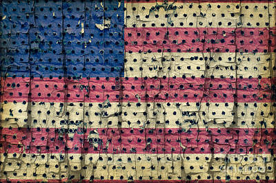 Photograph - American Flag by Jim Corwin