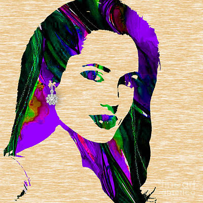 Celebrities Mixed Media - Angelina Jolie Collection by Marvin Blaine