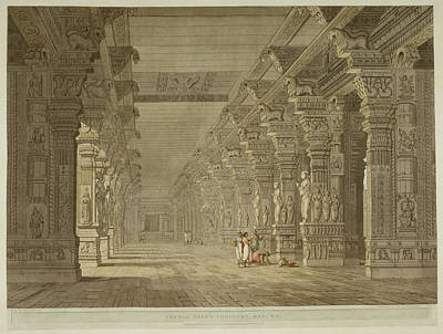 Illustration Technique Photograph - Antiquities Of India by British Library