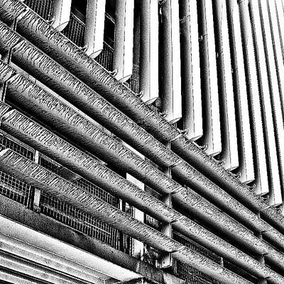 Abstract Wall Art - Photograph - Car Park 2 by Jason Michael Roust