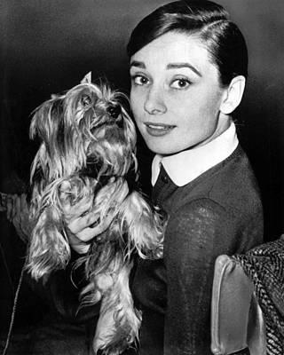 Audrey Hepburn Art Print by Retro Images Archive