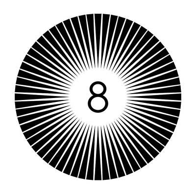 8 Ball Graphic Original