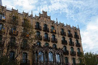 Photograph - Barcelona - Urban Scene by Andrea Mazzocchetti