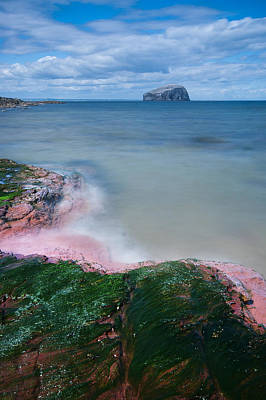 Bass Rock Art Print by Keith Thorburn LRPS