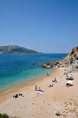 Athens Photograph - Beach In Legrena by George Atsametakis