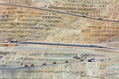Bingham Canyon Copper Mine Art Print by Jim West