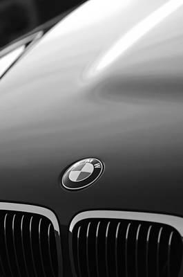 Bmw Vintage Cars Photograph - Bmw Hood Emblem by Jill Reger