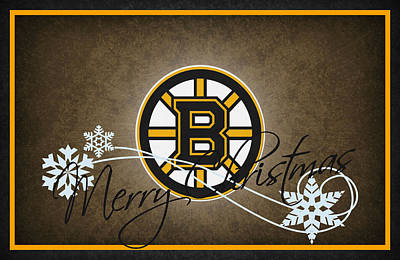 Boston Bruins Art Print
