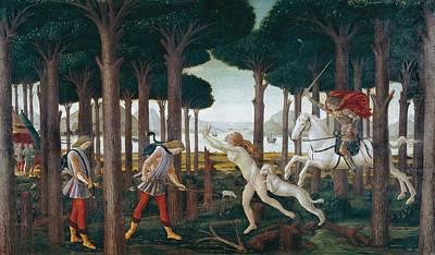 Botticelli, Alessandro Di Mariano Dei Art Print by Everett