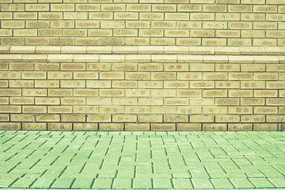 Realistic Photograph - Brick Wall by Tom Gowanlock