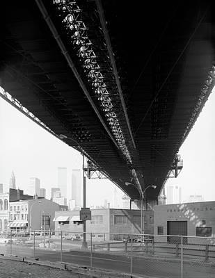 Photograph - Brooklyn Bridge, 1982 by Granger