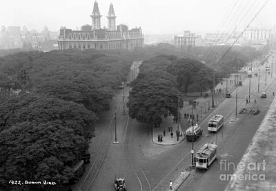 Paris Skyline Royalty-Free and Rights-Managed Images - Buenos Aires Argentina by Nicholas Cornhill