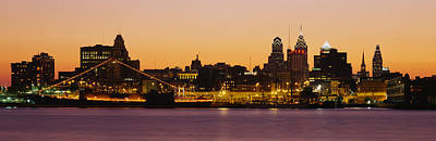 Cityscape Of Philadelphia Photograph - Buildings At The Waterfront by Panoramic Images