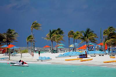 Caribbean, Bahamas, Castaway Cay Art Print