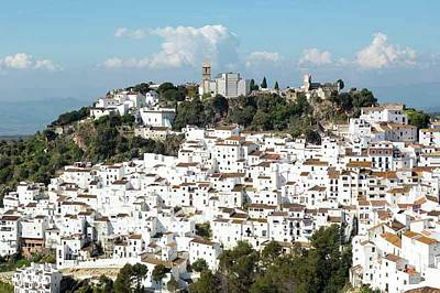 Casares Photograph - Casares, Andalusia, Spain by Ken Welsh
