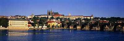 Prague Castle Photograph - Charles Bridge Prague Czech Republic by Panoramic Images