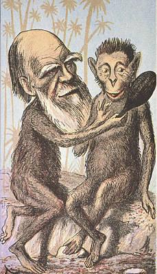 Charles Darwin (1809-1882) Art Print