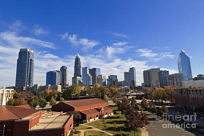 Charlotte Photograph - Charlotte Skyline by Jill Lang