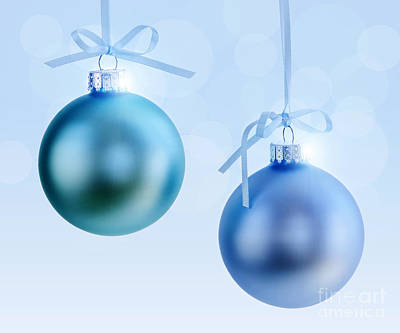 Celebrate Photograph - Christmas Ornaments by Elena Elisseeva