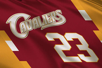 Cleveland Cavaliers Uniform Art Print by Joe Hamilton