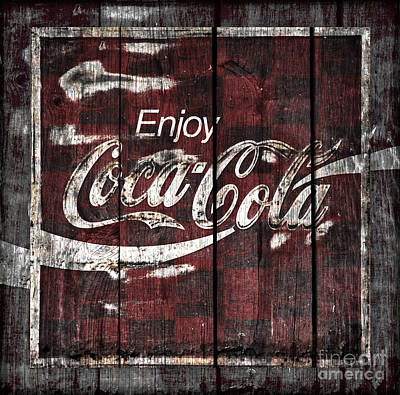 Photograph - Coca Cola Sign by John Stephens