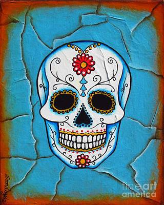Day Of The Dead Art Print by Joseph Sonday