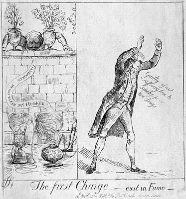 East India Painting - Edmund Burke (1729-1797) by Granger