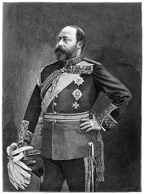 Maltese Photograph - Edward Vii (1841-1910) by Granger