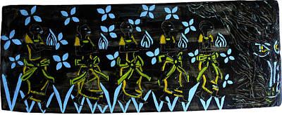Keys To Heaven Ceramic Art - Five Wise Virgins by Gloria Ssali