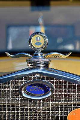 Vehicle Photograph - 1930 Ford Model A Coupe by George Atsametakis