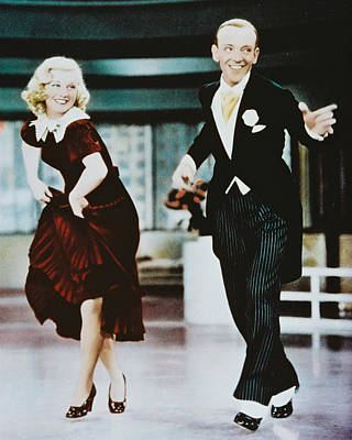 Ginger Photograph - Fred Astaire by Silver Screen