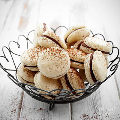 Photograph - French Macaroons by Kati Finell