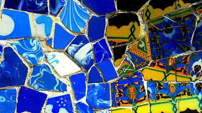 Gaudi Art Print by Olga Breslav