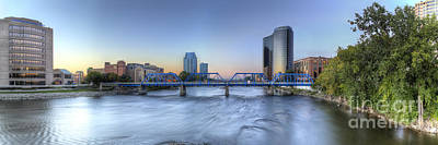 Michigan Photograph - Grand Rapids  by Twenty Two North Photography