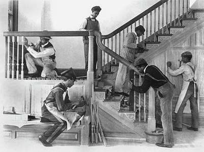 African-american Institute Photograph - Hampton Institute, 1899 by Granger