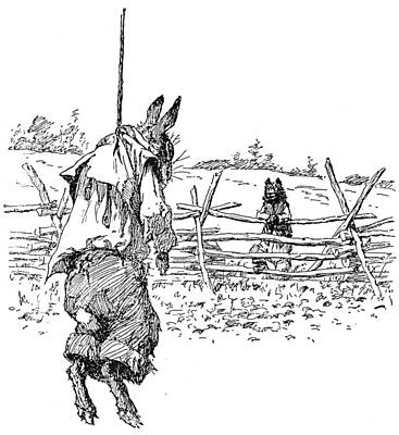 Fence Drawing - Harris Uncle Remus, 1895 by Granger