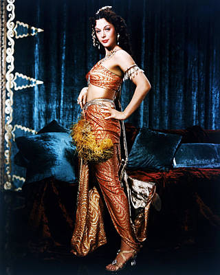 Hedy Lamarr Photograph - Hedy Lamarr by Silver Screen
