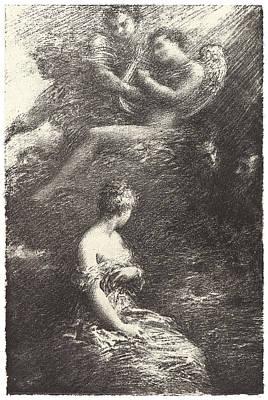 Henri Fantin-latour French Art Print by Litz Collection