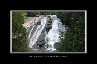 Photograph - High Falls North Carolina by Charles Beeler