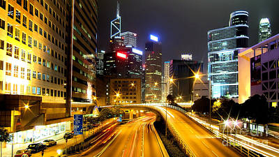 Hong Kong Photograph - Hong Kong by Baltzgar