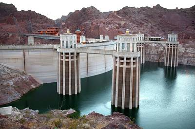 Hoover Dam Photograph - Hoover Dam by Jim West