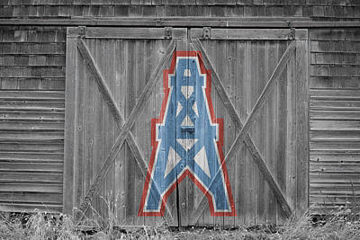 Photograph - Houston Oilers by Joe Hamilton