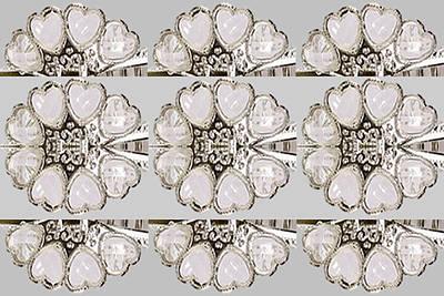 Imitation Painting - Imitation Jewellery Graphic Design Decorative Patterns Navinjoshi Rights Managed Images Graphic Desi by Navin Joshi