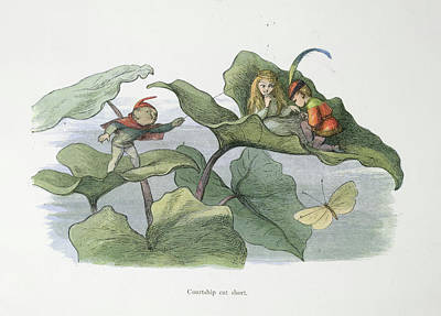 Of Fairies Photograph - In Fairy Land by British Library