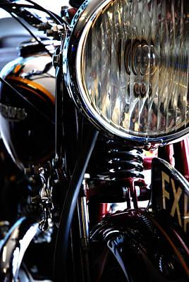 Headlight Photograph - 8 Inch Lamp by Mark Rogan