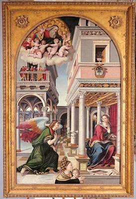 Italy, Marche, Pesaro Urbino, Urbino Art Print
