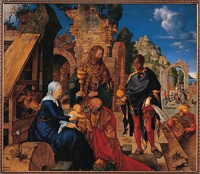 Italy, Tuscany, Florence, Uffizi Art Print