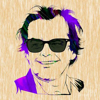 Jack Nicholson Collection Art Print by Marvin Blaine