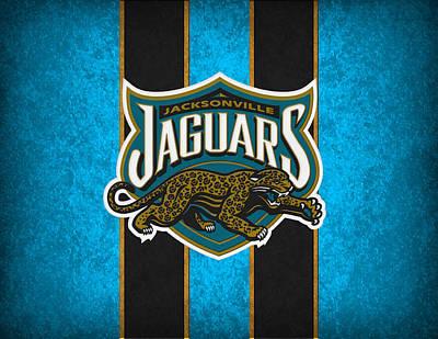 Jacksonville Jaguars Art Print by Joe Hamilton