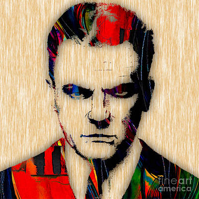 Movie Star Mixed Media - James Cagney Collection by Marvin Blaine